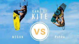 Kite Girls Play A Game Of KITE!