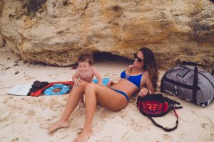 Pregnancy Recovery and Kiteboarding