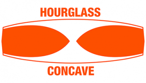 Hourglass Concave