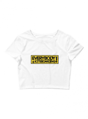 TONA x EVERYBODY LOVES KITEBOARDING CROP TOP