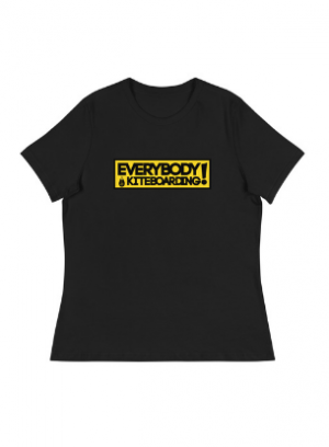 TONA x EVERYBODY LOVES KITEBOARDING WOMENS TEE