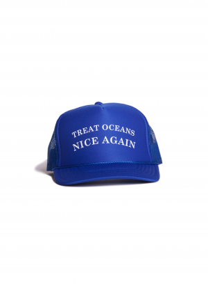 Treat Oceans Nice Again Hat