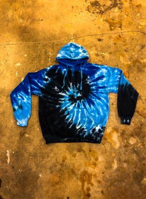 Earth Blue Tie Dye (L)