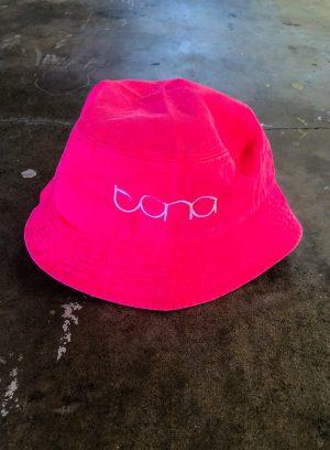 Neon Pink Bucket Hat