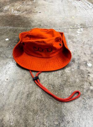 Orange Safari Tona Hat